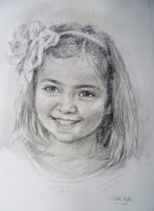 Pencil Portrait by Stan Hurr