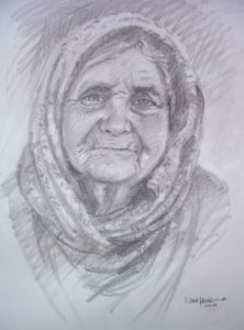 Pencil Portrait by Stan Hurr