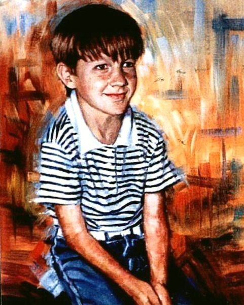 Portrait Artist UK - Oil Portrait by Stan Hurr Portrait Artist