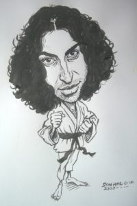 Black and White Caricature by Stan Hurr