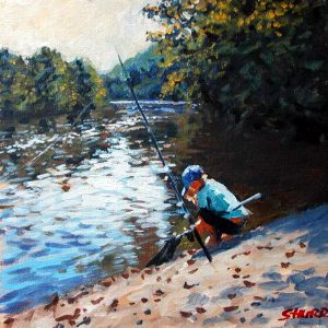 Landscape Painting by Stan Hurr